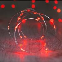 Red 20 LED Copper Fairy Lights