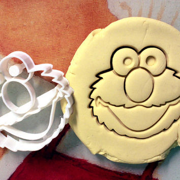 Elmo Sesame Street Cookie Cutter - Made from Biodegradable Material