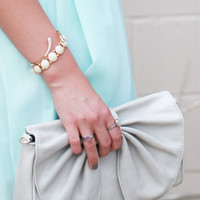 Bobbi Clutch Grey