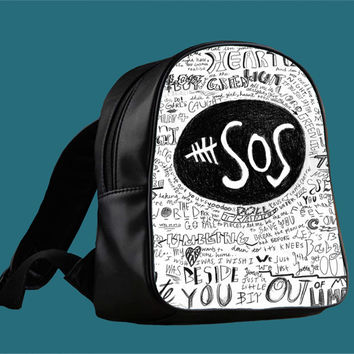 5sos 5 Seconds of Summer for Backpack / Custom Bag / School Bag / Children Bag / Custom School Bag *