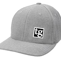 TG Patch Hat (Lite Heather Grey)