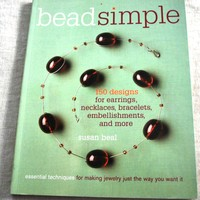 Bead Simple by Susan Beal Paperback Beading and Jewelry Book 150 Designs