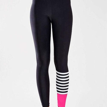 Slim Fit High Waist Running Pants