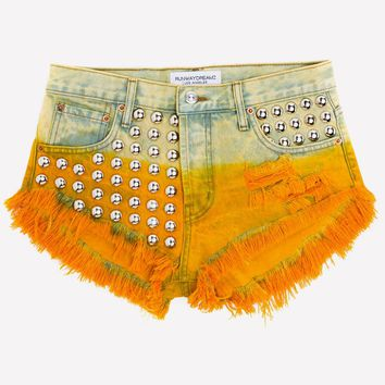 Gem Honey Studded Babe Shorts