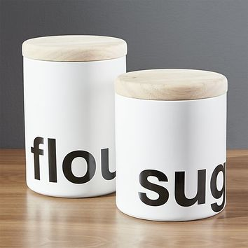 Loft Kitchen Canisters