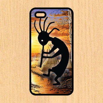 Indian Kokopelli Version 102 Art Print Cell Phone Case iPhone 4/4s 5/5c 6/6+ Case and Samsung Galaxy S3/S4/S5
