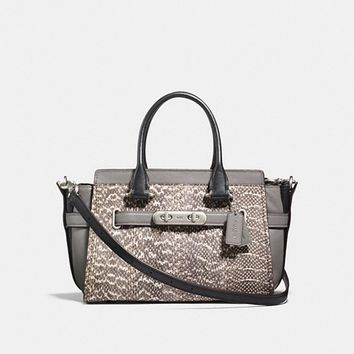 Coach Swagger 27 in Snakeskin