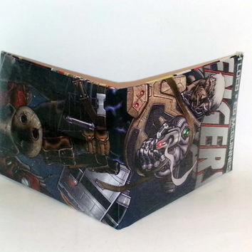 Comic Book Wallet// Cable