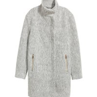 Wool-blend Coat - from H&M