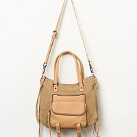 Free People + Joelle Hawkens Womens Highroad Vegan Tote - Natural One