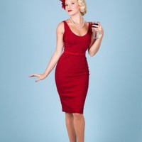 Shopping Time Burgundy | Bettie Page Clothing