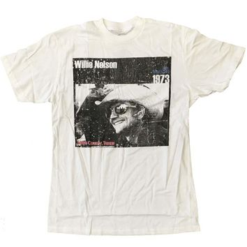 Willie Nelson Cowboy T-Shirt X-Large
