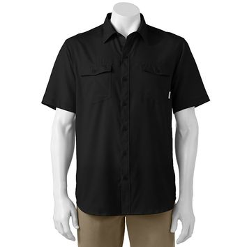Columbia Sportswear Pacific Breeze Classic-Fit Solid Button-Down Shirt