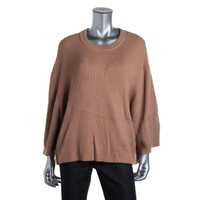 MICHAEL Michael Kors Womens Knit Dolman Sleeves Pullover Sweater