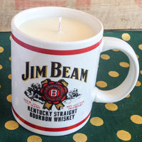 Capri Blue Volcano Candle Type - Jim Beam Coffee Mug Candle - Caldera Scent