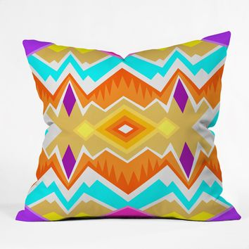 Elisabeth Fredriksson Desert Paradise Pattern Throw Pillow