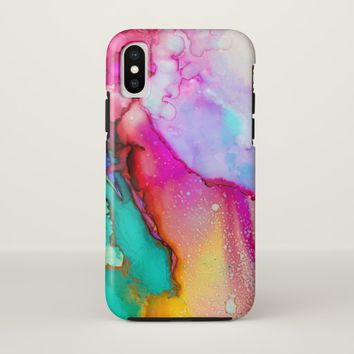 Coloring Mashup iPhone X iPhone X Case