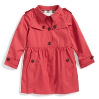 Toddler Girl's Burberry 'Melody' Coat,