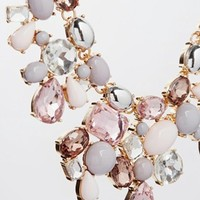 ALDO Gleliwet Spring Stone Collar Necklace
