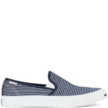 Jack Purcell Railroad Stripe Slip