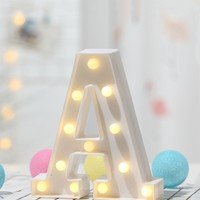 12PC Bulb A Shaped Table Lamp