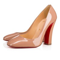 Cl Christian Louboutin Viva Pump Nude Patent Leather Pumps 3170820pk1a