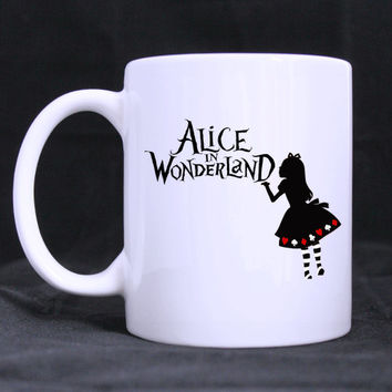 Alice in Wonderland White Rabbit Ceramic Mug 11 oz