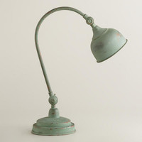 Oxidized Iron Task Lamp | World Market