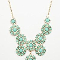 Genia Necklace in Mint - ShopSosie.com