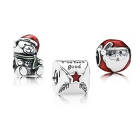 PANDORA A Child's Christmas Charm Gift Set