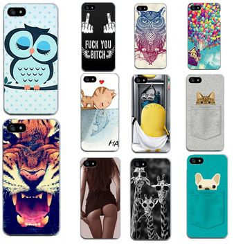 on 5 5S SE Thin Shell Minions Painting Cover Case For Apple iphone 7 PLUS 8 plus X 5 5S SE 6 6S Soft TPU Back Phone Case