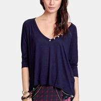 Taking Stride Oversized Top