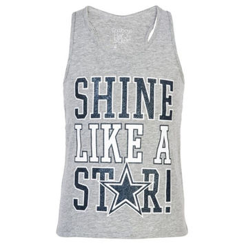 Dallas Cowboys Girls Hedley Tank