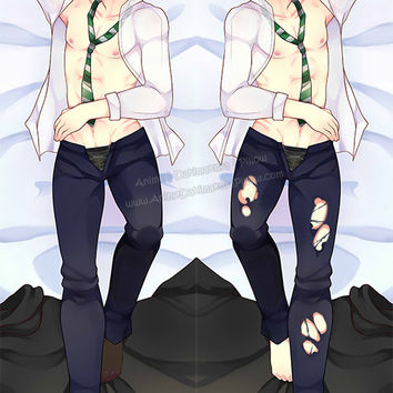 New Draco Malfoy - Harry Potter Male Anime Dakimakura Japanese Pillow Cover Custom Designer Arisa-Chibara ADC364