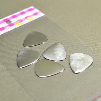 Blank Guitar Picks for Playing, Supplies, or Creating your own Accessories and Jewelry