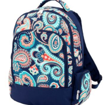Viv & Lou Emerson Paisley Backpack