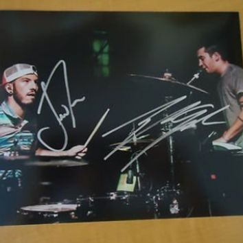 "Twenty-One Pilots ""21 Pilots"" Group SIGNED AUTOGRAPH 8X10 pic E - Autographed MLB Photos"