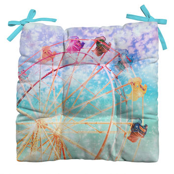 Lisa Argyropoulos Galaxy Wheel Outdoor Seat Cushion