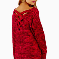 Crossing Paths Sweater $37
