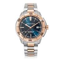 Trussardi Designer Men's Watches Sportive Stainless Steel PVD Plated Men's Automatic Watch