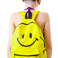 Hollywood Mirror Happy Daze Backpack Yellow One