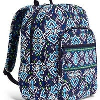 Vera Bradley Campus Backpack in Ink Blue