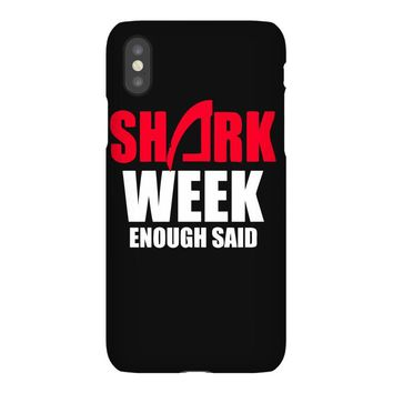 shark week enough iPhoneX