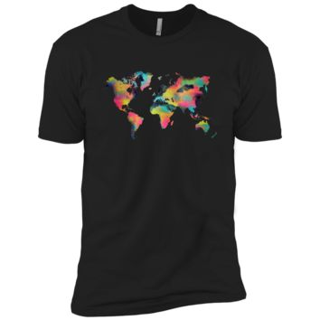 world map tropical sweatshirt T-Shirt