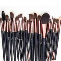 Professional 20 pcs Makeup Brush Set tools Make-up Toiletry Kit Wool Brand Make Up Brush Set pincel maleta de maquiagem