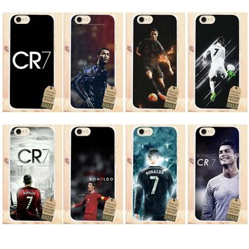 Perciron Soft Cute Case Cr7 Cristiano Ronaldo Art For Galaxy Alpha Core Prime Note 2 3 4 5 S3 S4 S5 S6 S7 S8 S9 mini edge Plus