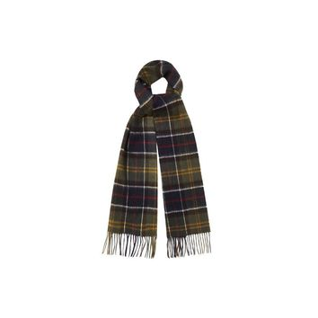 Classic Merino Cashmere Tartan Scarf by Barbour