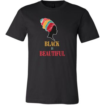 Black is Beautiful Stop Discrimination Beauty T-shirt