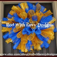 West Virginia Wreath, WVU, West Virginia, Wreath, College Wreath, College