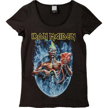 Iron Maiden  Seventh Son Junior Top Black